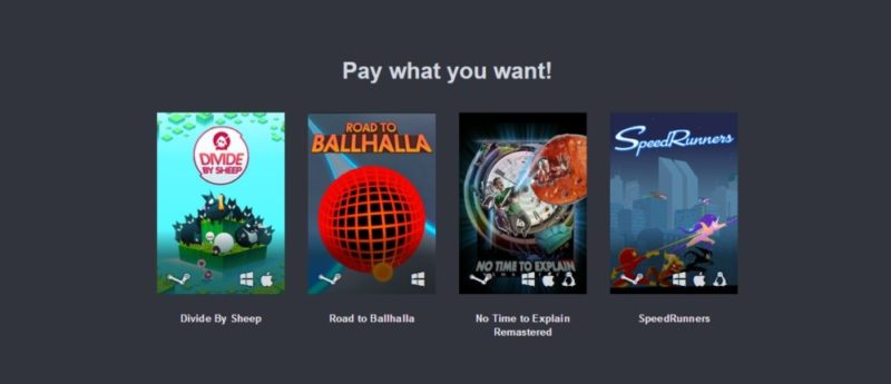 Humble tinyBuild Bundle Palier 1