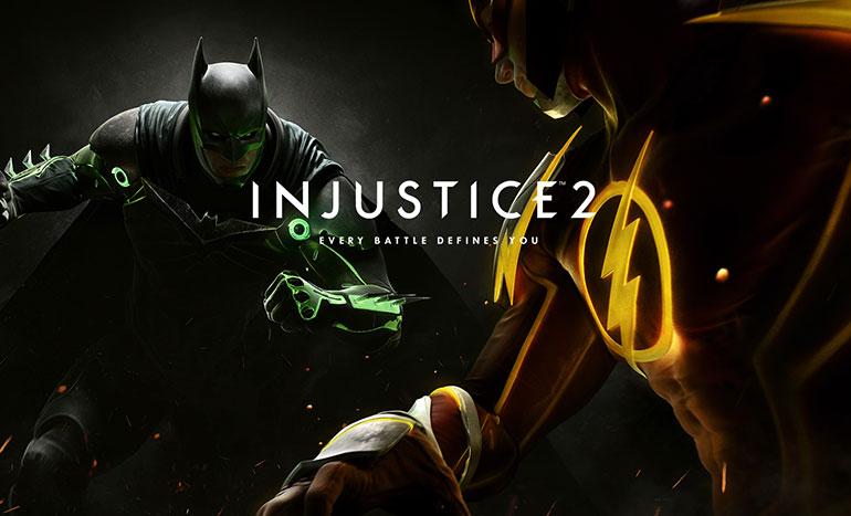 Injustice 2 Batman contre Flash