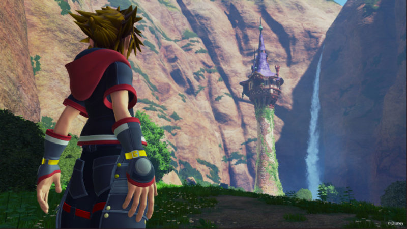 Report Final fantasy VII remake et Kingdom Hearts 3 (Sora)