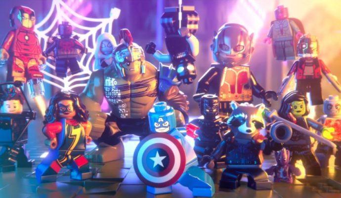 Lego Marvel Super Heroes 2 Casting