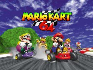 Mario Kart 8 Deluxe - Mario Kart 64 écran d'accueil