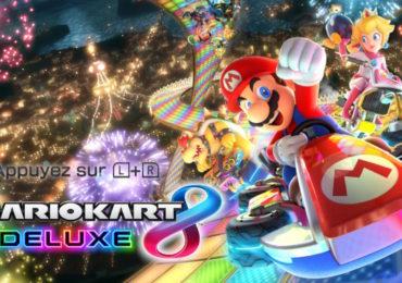 Mario Kart 8 Deluxe Nintendo Switch - écran titre