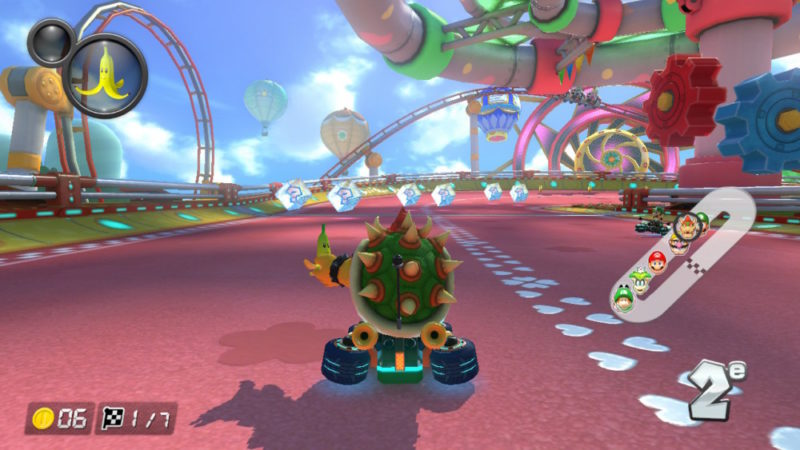 Mario Kart 8 Deluxe sur Nintendo Switch Bowser