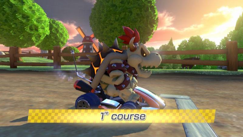 Mario Kart 8 Deluxe - Bowser squelette