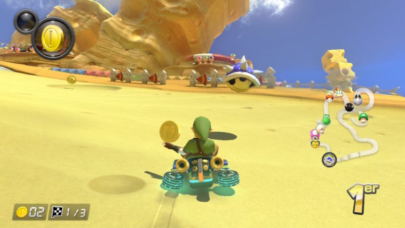 Mario Kart 8 Deluxe sur Nintendo Switch - Carapace Bleue