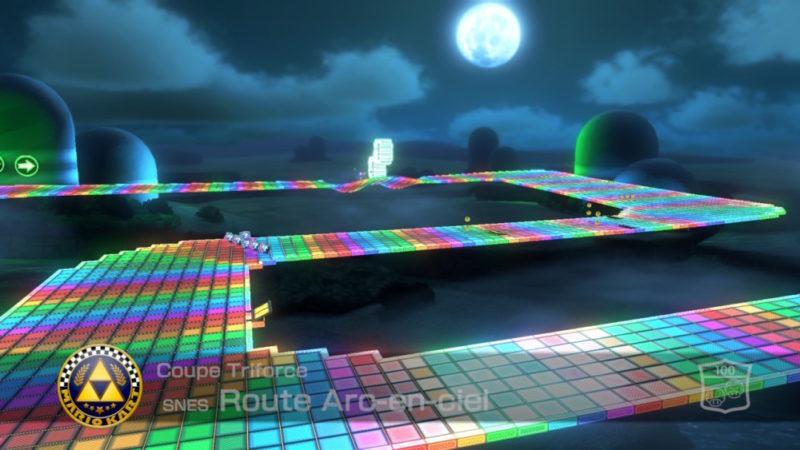 Mario Kart 8 Deluxe - Course Arc en ciel