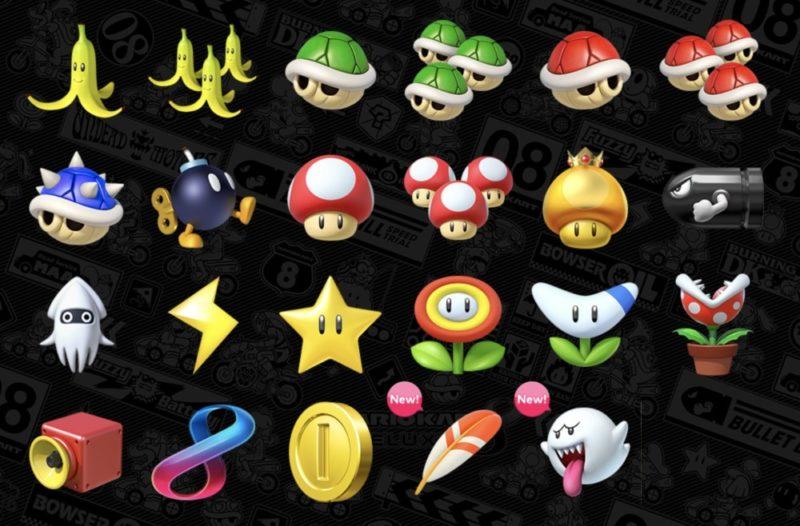 Tous les items qu'il est possible d'utiliser en course dans Mario Kart 8 Deluxe sur Nintendo Switch