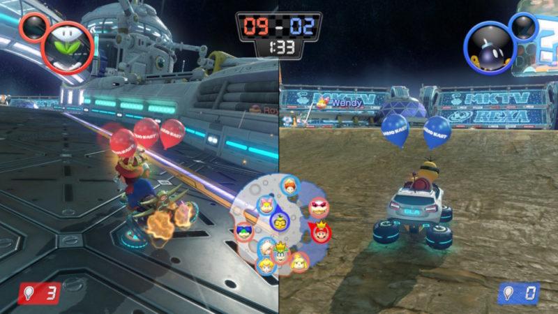 Mario Kart 8 Deluxe sur Nintendo Switch - Mode bataille
