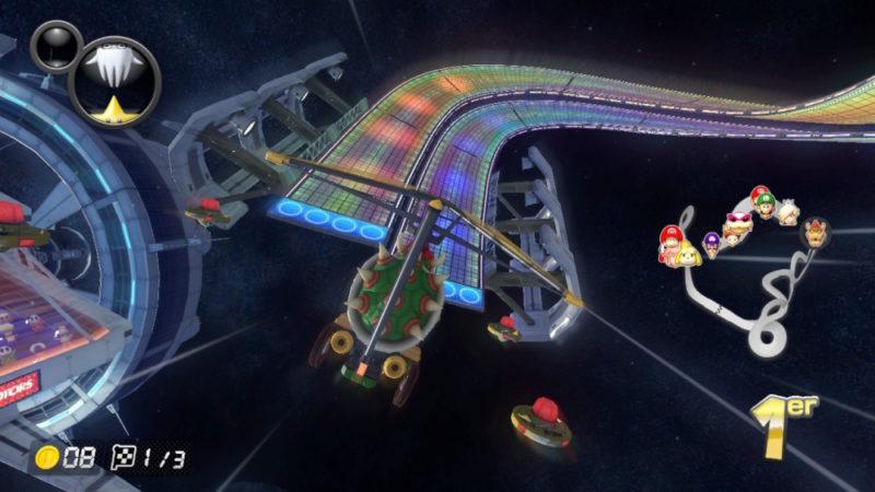 Mario Kart 8 Deluxe - Vol plané