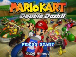 Mario Kart 8 Deluxe - Mario Kart Double Dash écran d'accueil