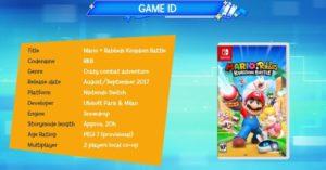 Mario + Lapins Crétins Kingdom Battle infos
