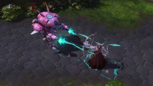 Heroes of the storm D.Va mode méca