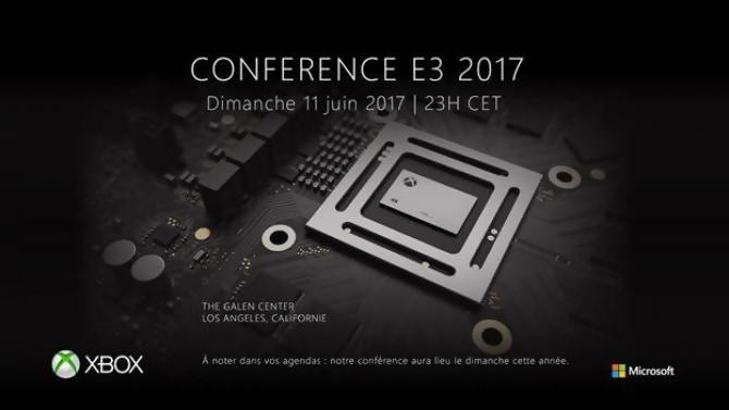 Conférence XBOX E3 2017