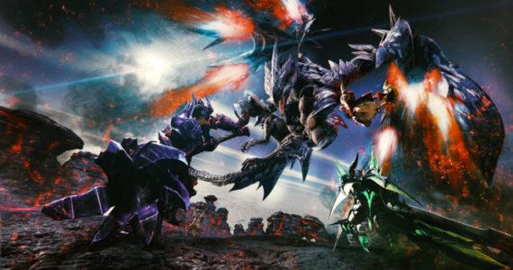 Monster Hunter XX - artwork officiel