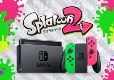 Des Joy-Con aux couleurs de Splatoon 2
