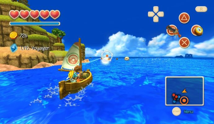 Oceanhorn PS Vita mer