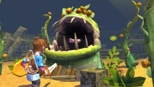 Oceanhorn PS Vita Boss