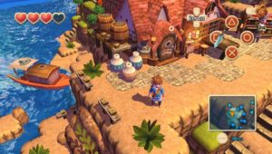 Oceanhorn PS Vita village