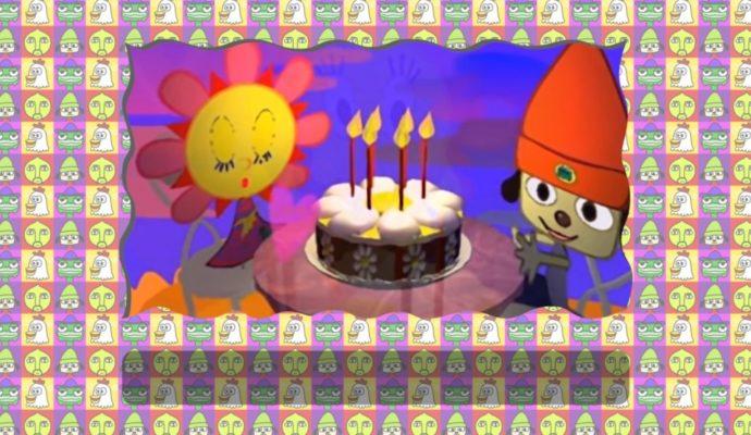 PaRappa the Rapper Remastered anniversaire de sunny