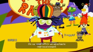 PaRappa the Rapper Remastered stage final