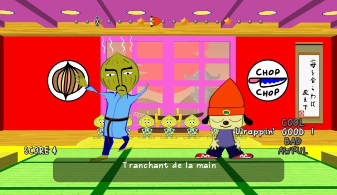 PaRappa the Rapper Remastered Chop-Chop