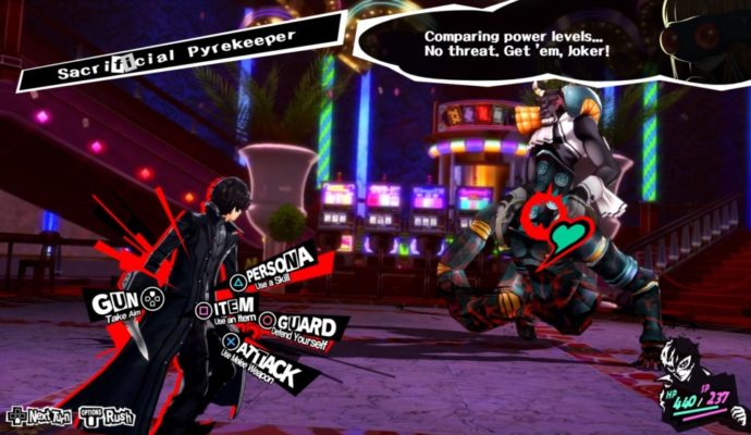 Persona 5 infiltration Palace