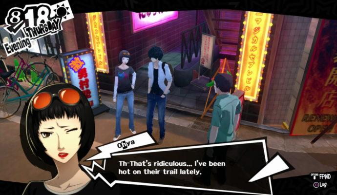 Persona 5 Confident Ohya, best waifu