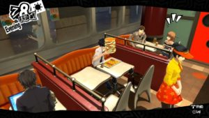 Persona 5 Burger Challenge