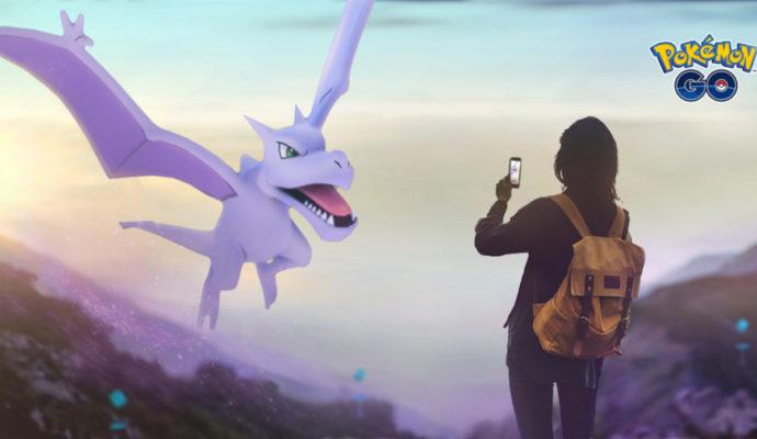Pokémon Go semaine de l'aventure Ptéra