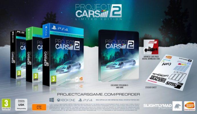 Project Cars 2 édition limitée précommande