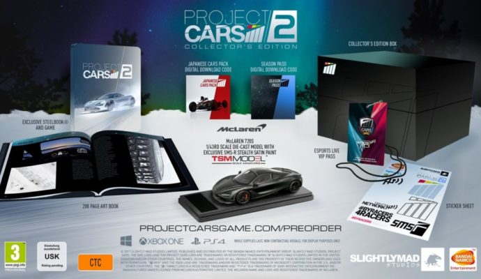 Project Cars 2 édition collector