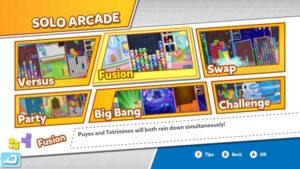 Puyo Puyo Tetris - Modes solo