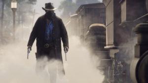 Red Dead Redemption un cow-boy dans le brouillard