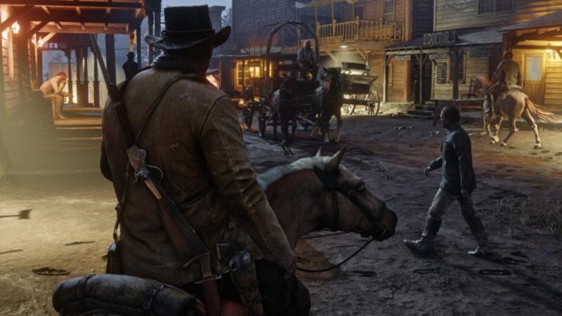 Red Dead Redemption 2 en ville