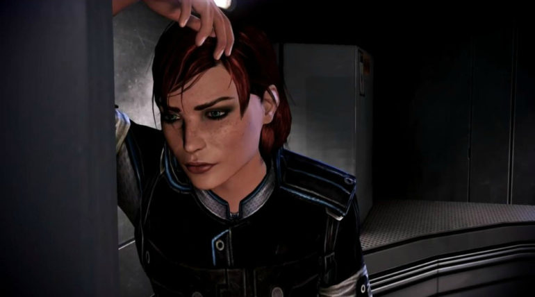 Mass Effect Shepard est déçue.