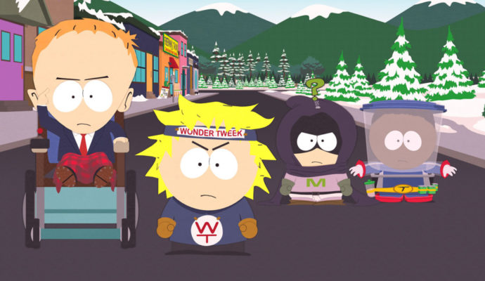 South Park : L'Annale du Destin Timmy, Tweek, Tupperware et Mystérion