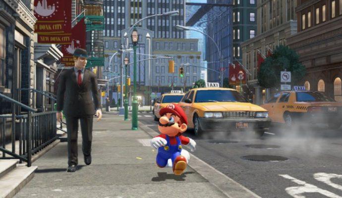 Super Mario Odyssey Nintendo Switch E3 2017