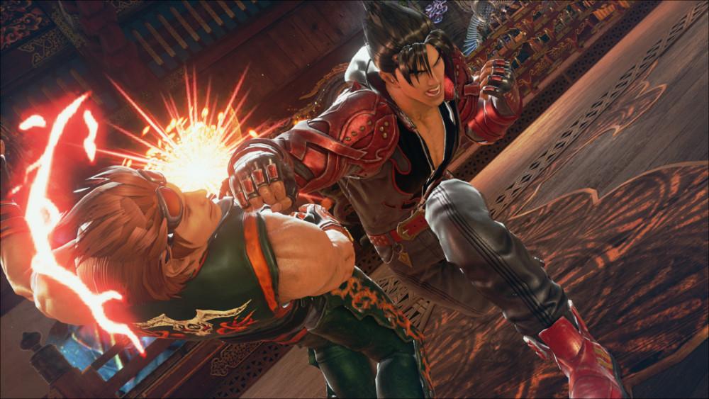 Tekken 7 Akuma contre Jin