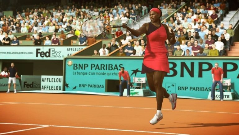 Tennis World Tour - Serena Williams Top Spin 4