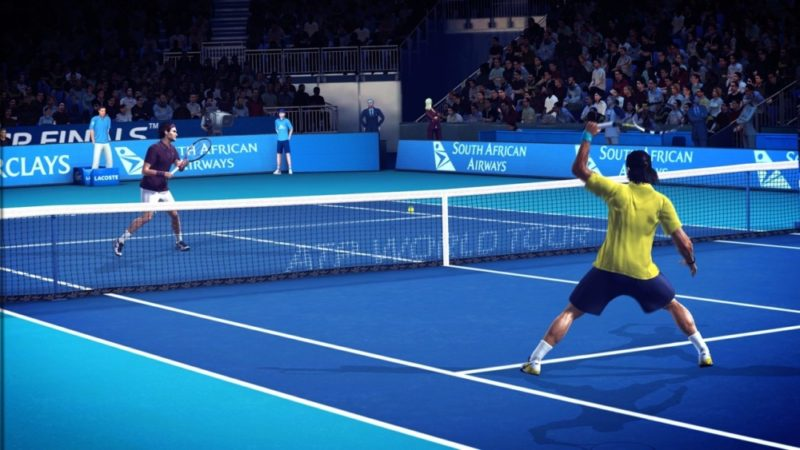 Tennis World Tour - illustration top spin 4