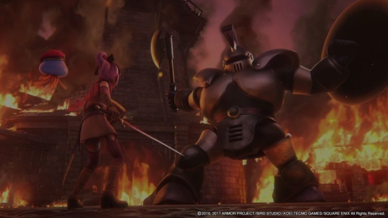 Dragon Quest Heroes II - Affrontement dans les flammes