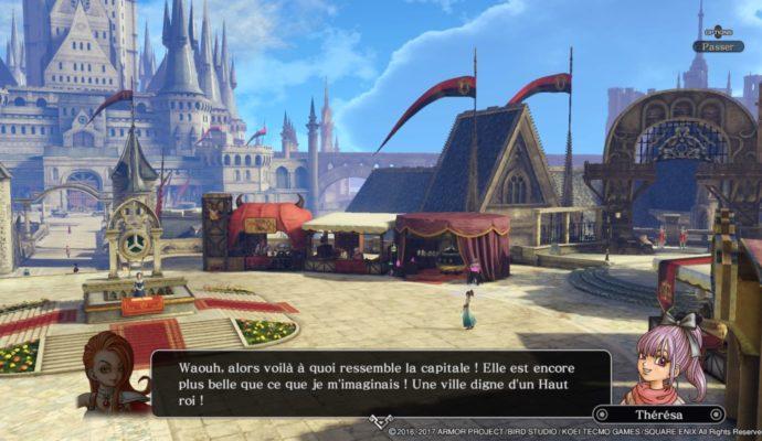Dragon Quest Heroes II - La place d'Accordia