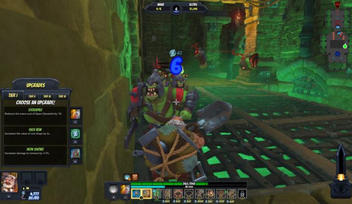 Orcs Must Die! Unchained - amélioration capacité