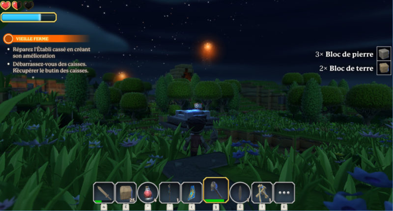 Portal Knights - nuit