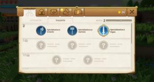 Portal Knights - compétences