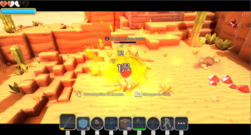 Portal Knights - désert