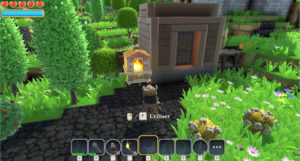 Portal Knights - crafting four