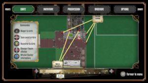 La carte interactive, un précieux allié dans The Sexy Brutale.