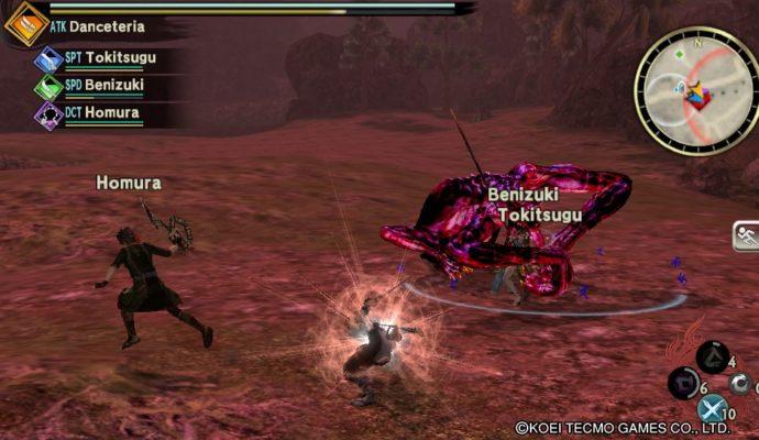 Toukiden 2 - Chargement d'une attaque