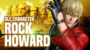 The King of Fighters XIV rock howard